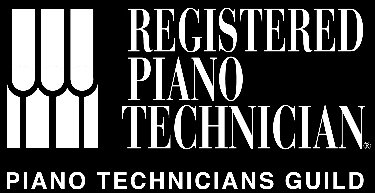Registered Piano Technician Logo