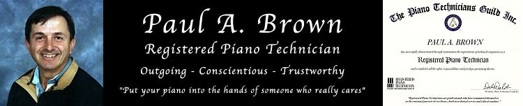 Vancouver Piano Tuner Paul Brown